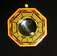 Feng Shui Bagua Concave Mirror (8 Inch)