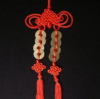 Feng Shui Double Coin Ornament Hanger
