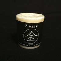 Metal (Success) Feng Shui Palm Wax Votive Candle