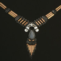 Angelite Peruvian Necklace