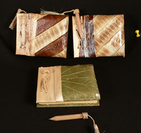 Hand-Made-Paper Books with Pencil (Small)