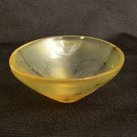 Yellow Agate Energy Bubble Bowl