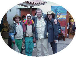 Ron and Jerrine Gray Andean Path Instructors